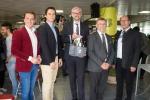 Wirtschaftslandesrat Strugl diskutierte mit 150 Schülern der HAK Braunau