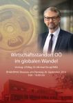 LR Mag. Dr. Michael Strugl MBA - Wirtschaftsstandort im globalen Wandel