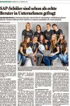 SAP-Schüler sind schon als echte Berater in Unternehmen gefragt