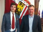Edwin Schneider gewinnt Landesredewettbewerb der Höheren Schulen!