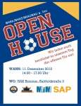 Save the Date - Open House am 11.12. ab 14.00 Uhr